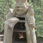 rzeźba 180 cm wysoka