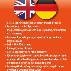 Język niemiecki / Język angielski